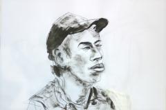 2008 portret-met-pet